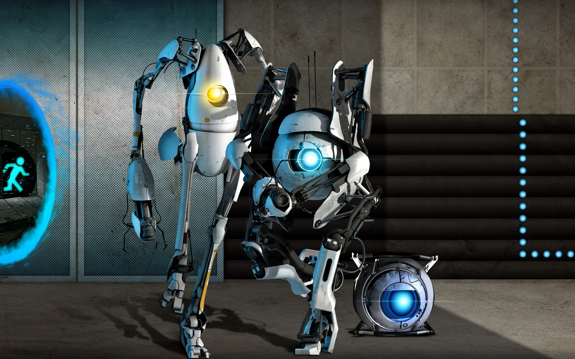 Portal 2 android game - http://apkgamescrak.com