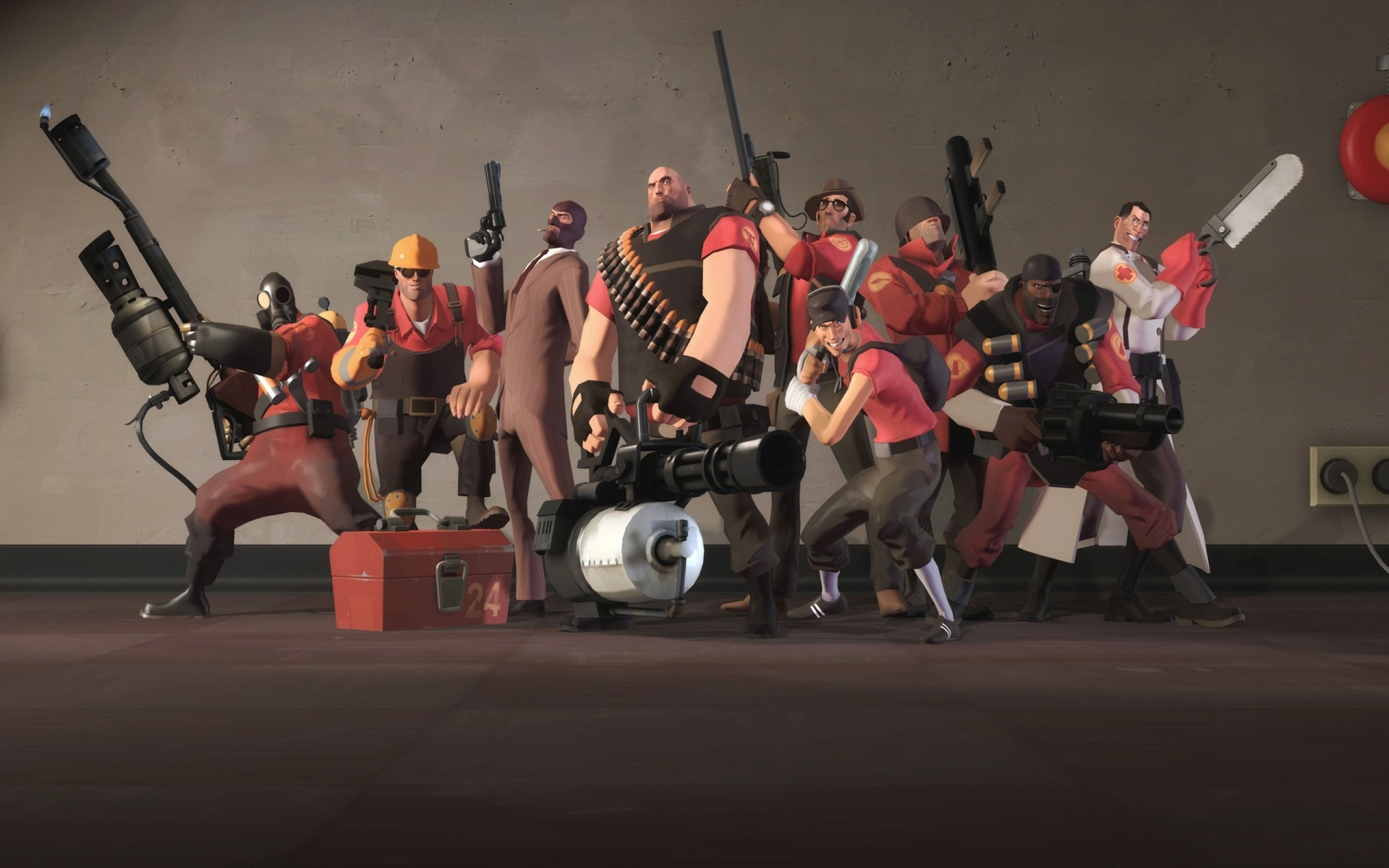 Team Fortress 2 android game - http://apkgamescrak.com